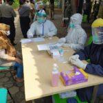 Hasil Rapid Test Dua Pedagang Puri Baru Reaktif