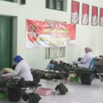Peringati Hari Juang TNI AD Dengan Berdonor Darah