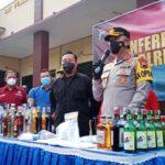 Polres Pati Bongkar Tiga Kasus Narkoba